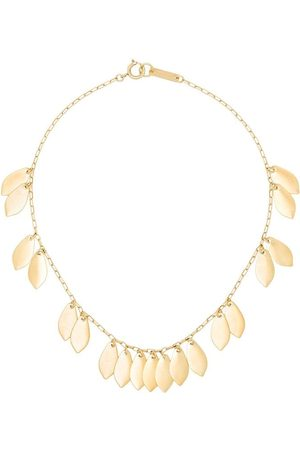 Isabel Marant Leaf chain necklace