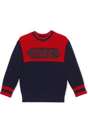 Gucci Jersey con parche Gucci