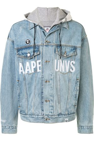 AAPE BY *A BATHING APE® Chaqueta vaquera oversize