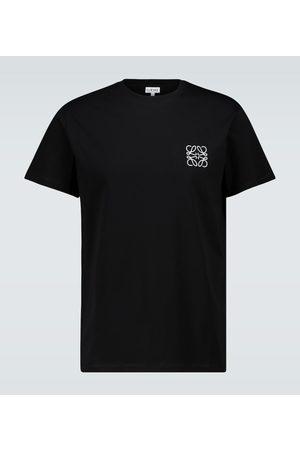 Loewe Camiseta Anagram de algodón bordada