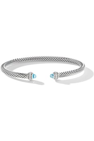David Yurman Brazalete con diseño de cable