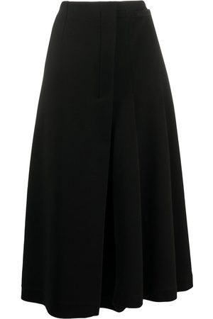 Marni Asymmetric pleated midi-skirt