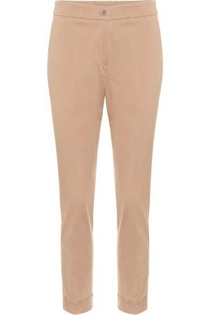 Etro Pantalones de algodón elastizado