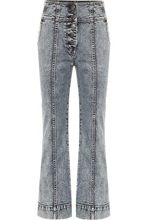 ULLA JOHNSON Jeans Ellis bootcut cropped