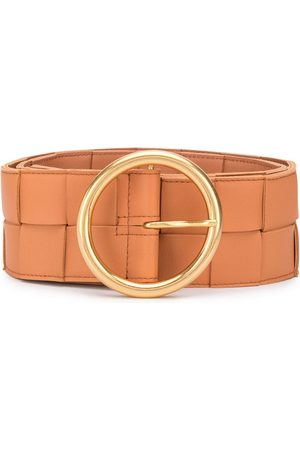 Bottega Veneta Maxi woven leather belt