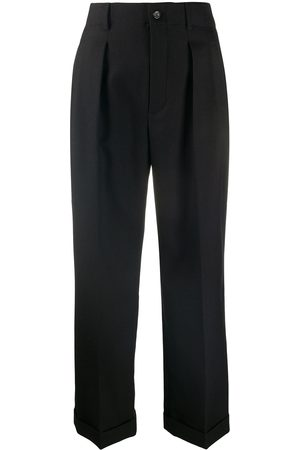 Saint Laurent Cropped tailored trousers