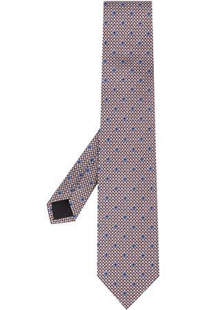 Salvatore Ferragamo Woven Gancini-print tie