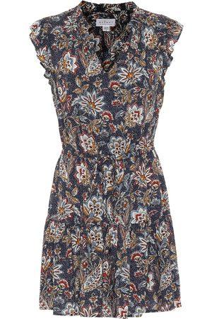 Velvet Vestido corto Paloma floral