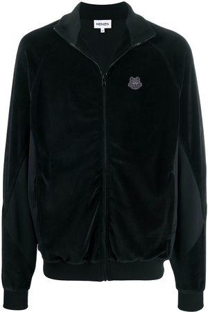 Kenzo Logo-patch long-sleeve jacket