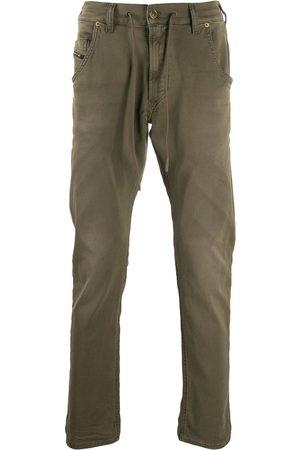 Diesel Pantalones Krooley de talle bajo