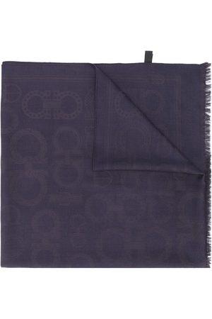 Salvatore Ferragamo Gancini jacquard scarf