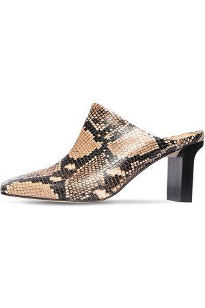 """Aeyde   Mujer Zapatos """"edith"""" De Piel Estampado Serpiente 75mm /multi 40"""
