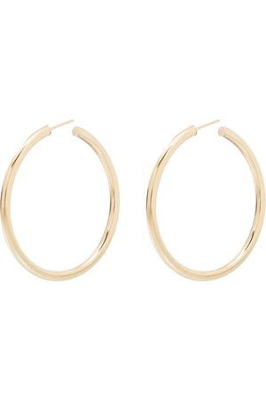 LOREN STEWART Natasha 10kt gold hoop earrings