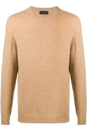 Roberto Collina Jersey texturizado con cuello redondo