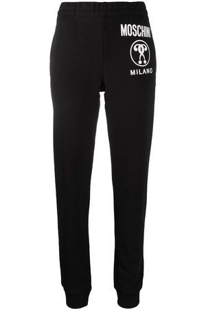 Moschino Milano logo-print track pants