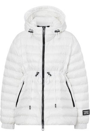 Burberry Hooded puffer jacket