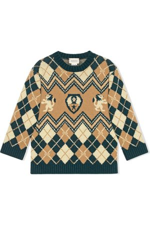 Gucci Jersey con bordado GG