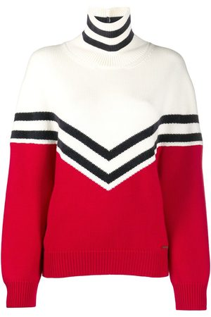 Dsquared2 Mujer Jerséis y suéteres - Colour block roll neck jumper