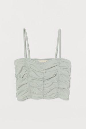 H&M Top drapeado
