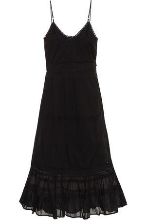 Velvet Vestido midi Zuly de algodón