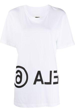 MM6 MAISON MARGIELA Camiseta con logo estampado