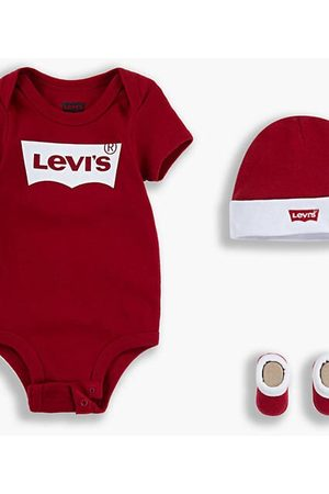 Levi's Batwing Baby Set / Red