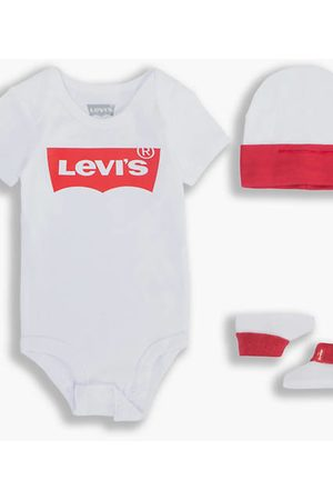 Levi's Classic Batwing Baby Set / White