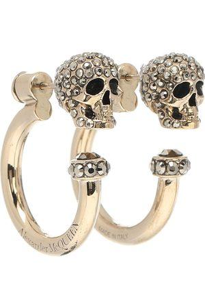 Alexander McQueen Argollas Skull adornadas