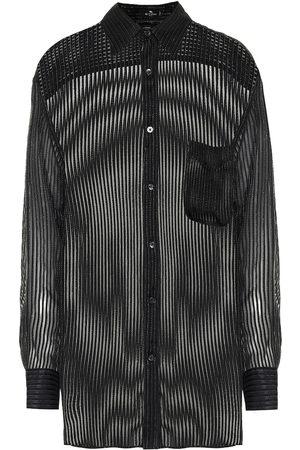Etro Camisa en mezcla de seda