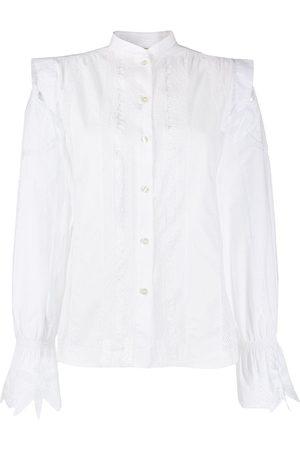 Etro Camisa con panel perforado
