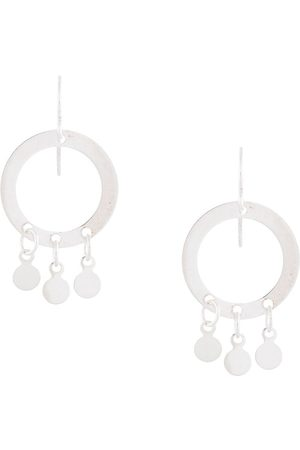 Petite Grand Pendientes Little Circle