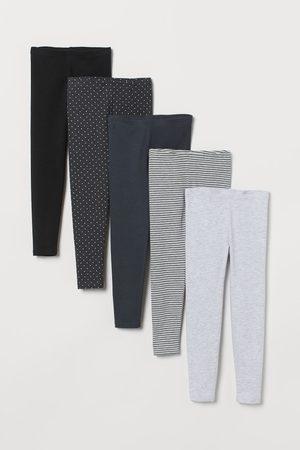 H&M Pack de 5 leggings de punto