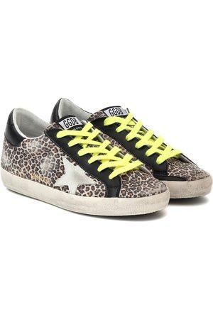 Golden Goose Zapatillas Superstar print de leopardo