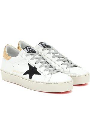 Golden Goose Exclusivo en Mytheresa – zapatillas Hi-Star de piel