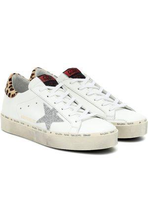 Golden Goose Exclusivo en Mytheresa – zapatillas Hi Star de piel