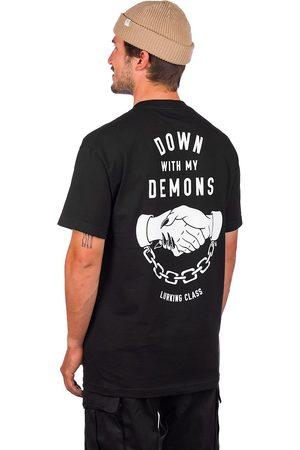 Lurking Class Hombre Manga corta - Down With My Demons T-Shirt negro