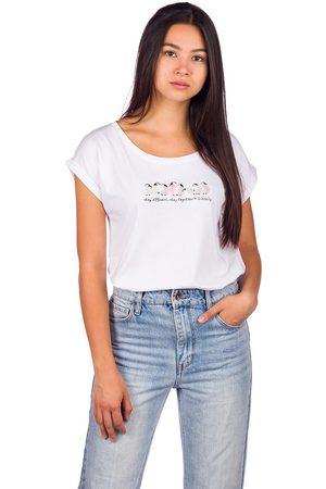 Iriedaily Stay Pingu T-Shirt blanco