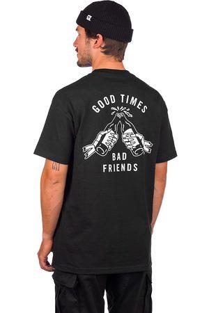 Lurking Class Good Times Bad Friends T-Shirt negro