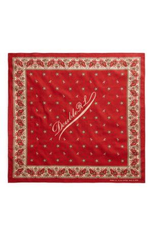 RRL Hombre Bufandas y Pañuelos - Bandana de algodón con logotipo