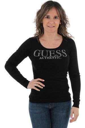 Guess Jersey W91R58Z2760 JBLK para mujer
