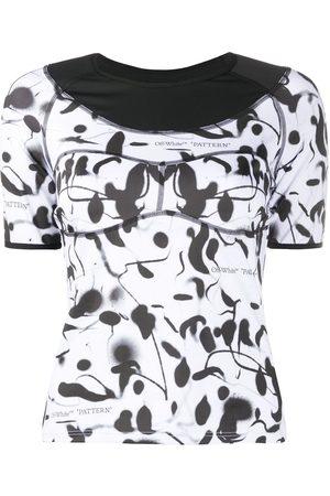 OFF-WHITE Camiseta deportiva con estampado abstracto