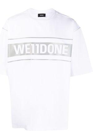 We11 Done Camiseta oversize con logo