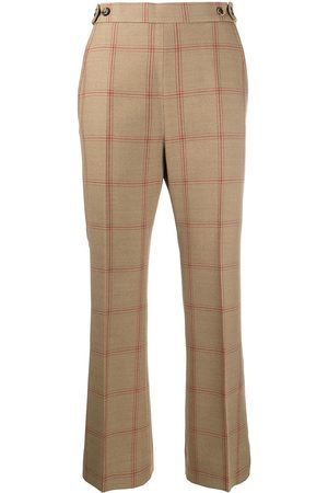 Marni Cropped check flares