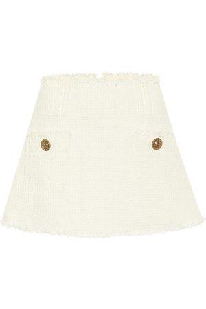 Balmain Minifalda de tweed