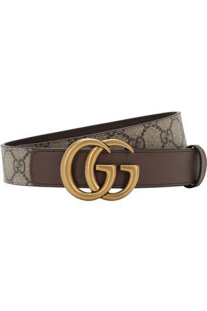 "Gucci | Mujer Cinturón ""gg Marmont Supreme"" 30mm 75"
