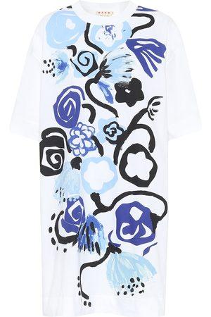 Marni Vestido camiseta corto de algodón
