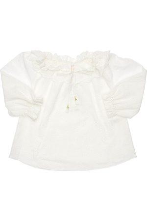 ZIMMERMANN | Niña Cotton Eyelet Lace Shirt 8a