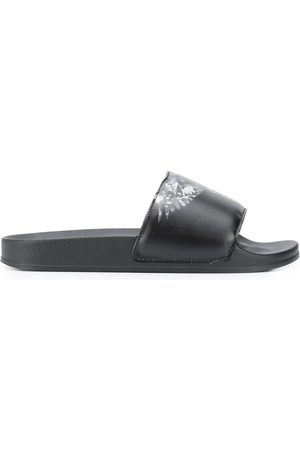 MARCELO BURLON Chanclas con estampado Wings