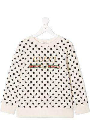 Gucci Polka dot print sweatshirt