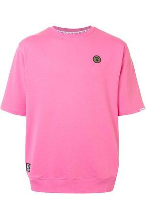 AAPE BY *A BATHING APE® Camiseta con logo bordado